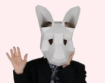 The Kangaroo Mask - Download, Print and Make Your Own