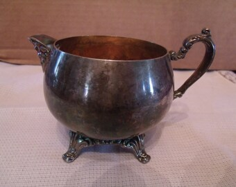 Vintage Oneida silver plated Creamer Cup, (# 79/6)