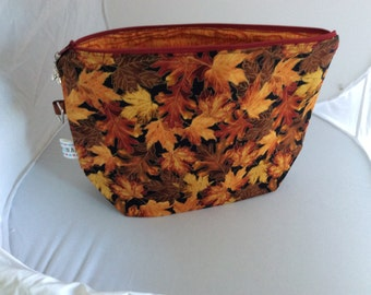 Fall leaves project /tote bag (med)