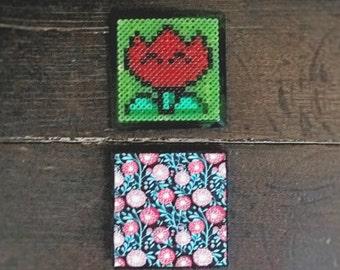 Pixel flower - SMB3