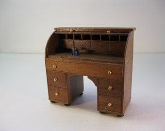 Mock rolltop desk