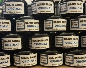 The Beard Champ's Original Beard Sauce