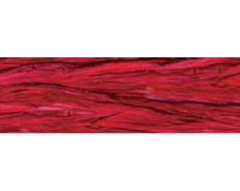 Red raspberry pearlized raffia     (20-P-349)