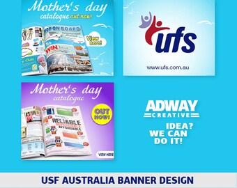 Animated HTML5 web banners. Custom design. AdwayCreative Studio.