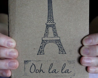 Ooh La La Eiffel Tower Sketchbook