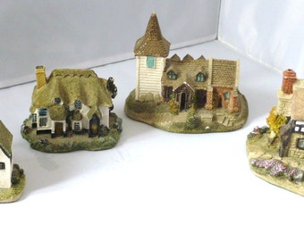 Miniature houses by Academy Collectable