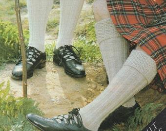 Free Knitting Pattern For Kilt Socks : Kilt pattern Etsy
