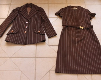 Vintage RONA Dress/Jacket Outfit