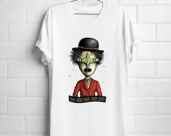 Charlie Chaplin Tshirt I Men