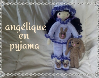 "HOLDING ""PAJAMAS"" for the angelic doll tutorial"