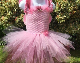 Fairy Tutu Dress with customised wings! Age 3-5