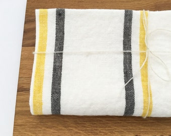 Linen kitchen towel - organic linen cloth - housewarming gift - kitchen decor