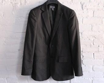 Mens H&M Pinstripe Suit