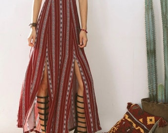 ON SALE! Custom dress Bohemian dress boho dress halter gypsy dress peasant dress festival dress maxi dress hippie dress maxi boho dresses