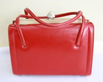 Cherry Red Vintage purse