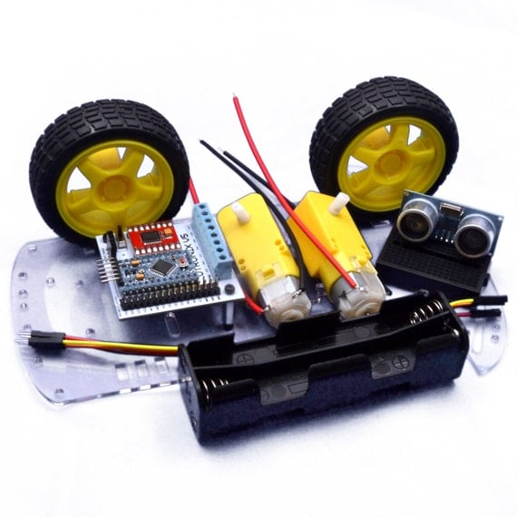 Arduino smart robot avoidance car kit with micro processor