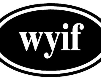 Knitters Decal wyif   With Yarn In Front
