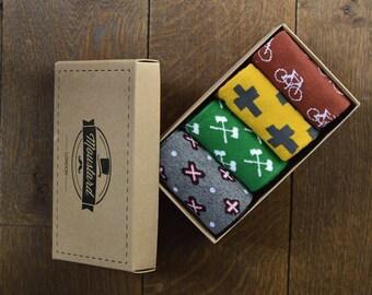 Socks | Socks gift box | Birthday gift | men's socks | Gift for him | gift for men | boyfriend gift | colourful socks | Dress socks |