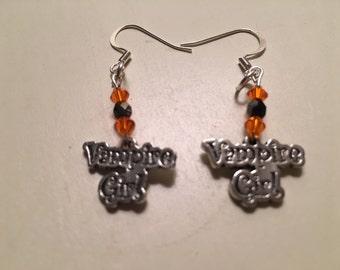 Vampire Girl Pierced Earrings