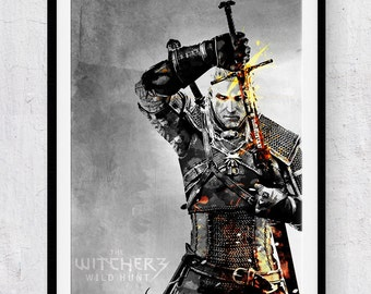 The Witcher print/poster