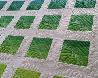 Green Ombre Quilt
