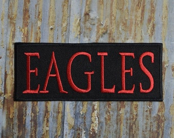 Hotel California Eagles Classic Rock Music Band Iron On Sew On Patch Transfer