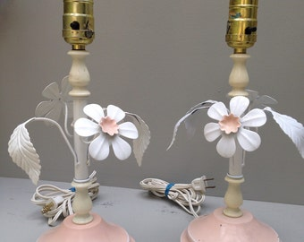 Pair of Retro 1950's Lamps