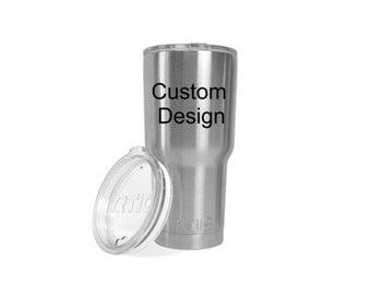 Custom engraved RTIC /  30 oz Tumbler /  Similar to Yeti / 20 oz Tumbler