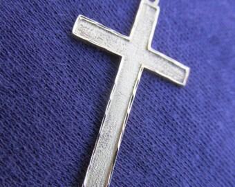 Crucifix pendant cross pendant 18ct gold crucifix 18ct gold pendant Catholic gift confirmation gift religious vintage 70s.