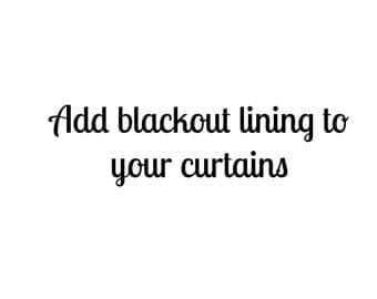 Add Blackout Lining to Your Curtains, Blackout Curtain Lining, Custom Curtains, Lined Curtains, Home Decor, Redecorating