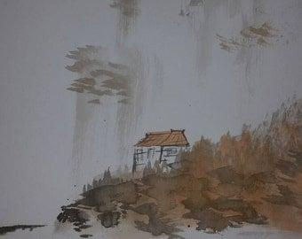 Japanese Sumi - Village Head