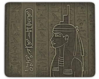 Mousepad Isis - personalized with your name in hieroglyphs