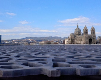 On the heights of Mucem... Marseille