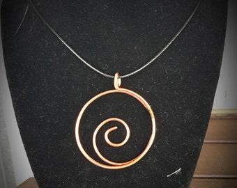 Copper Spiral 031