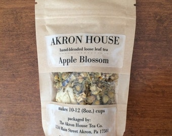 Apple Blossom Herbal Loose Leaf Tea & Hand-Filled Tea Bags