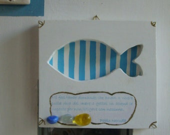 "Painting ""striped Fish"""