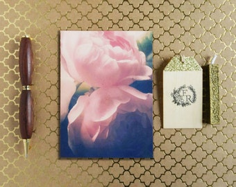 Note Card - Greeting Card - Blank Note Card - Sympathy - Encouragement - Stationery - Floral Photography - Floral Cards - Cottage Rose