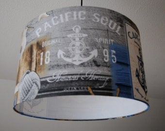 "Ceiling lamp ""Pacific soul"" (ceiling lamp shade)"