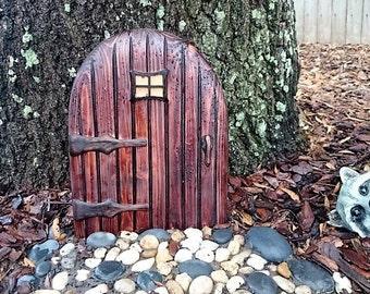 Garden gnome door