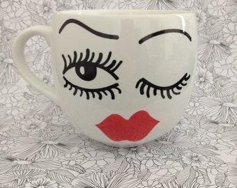 Wink mug