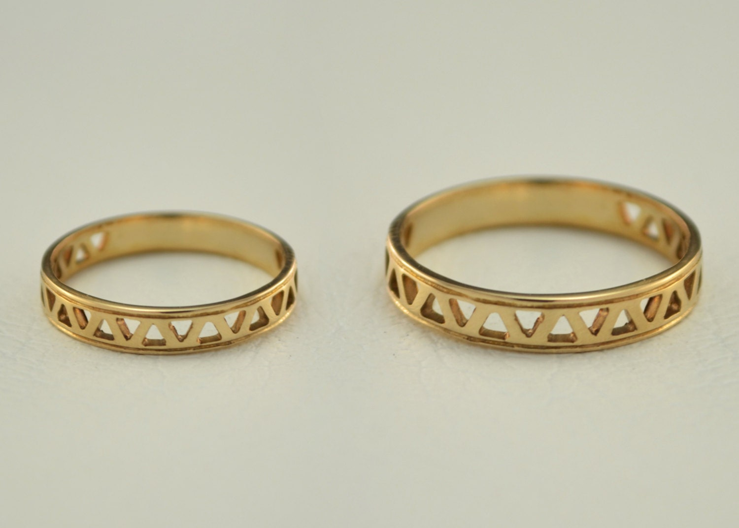 small wedding rings couple wedding bands thin by