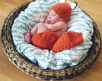 Fox Newborn Prop Outfit