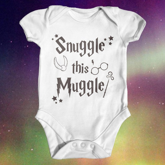 Harry Potter Baby Gifts Uk : Snuggle this muggle harry potter baby bodysuit