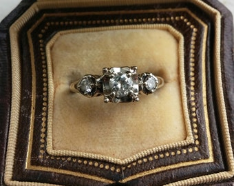 14k Gold Diamond Wedding Engagement Ring