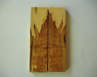 Spalted Hard Maple -wood knife handle/grip blanks