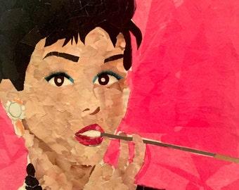 Pop Art- Audrey Hepburn