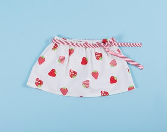 Skirt Strawberries Print