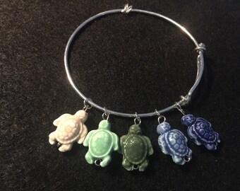 Ceramic Turtle Charm