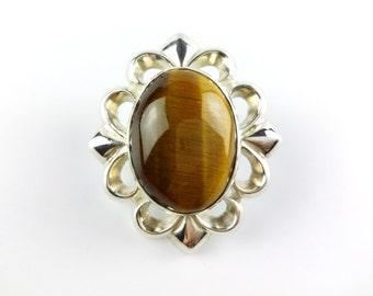 Concho 925 siliver with gem stone leathercraft handmade