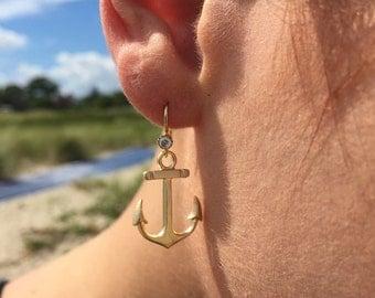 Anchor Me Gold Hooks